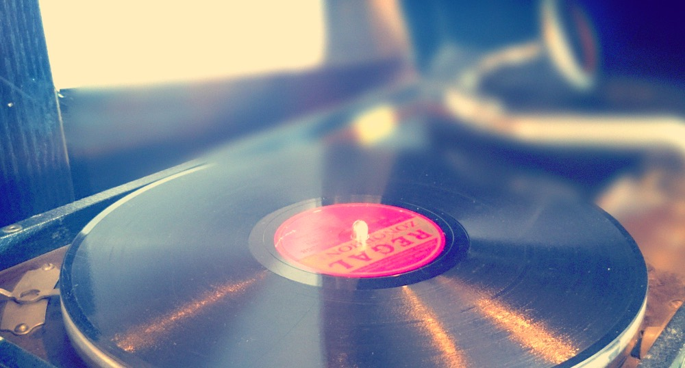 昭和の古いレコード